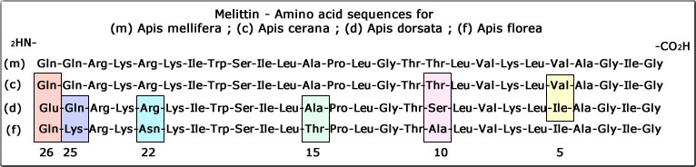 melittin amino acid sequence